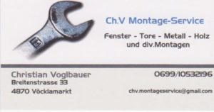 Ch.V.MontageService